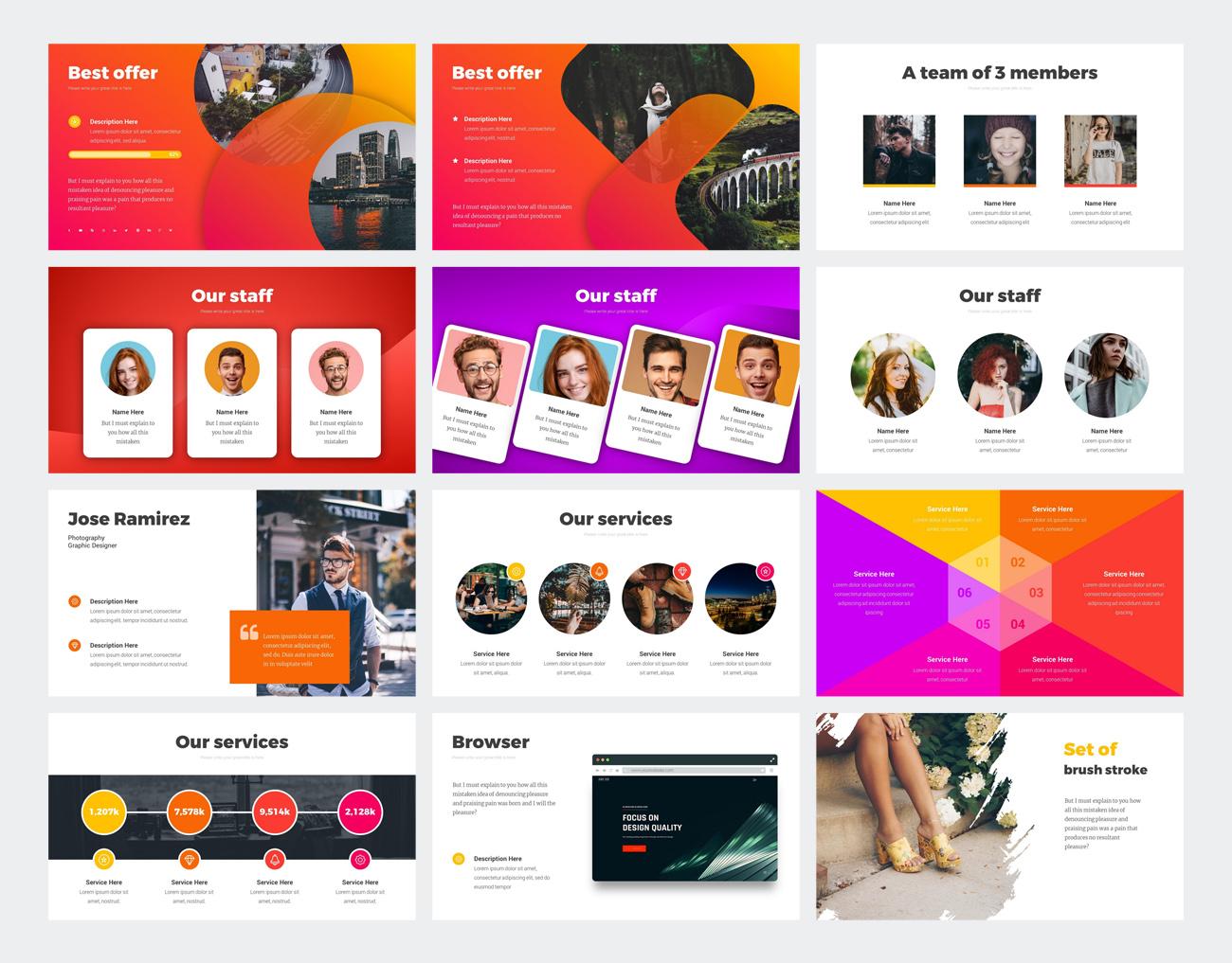 StartUp PowerPoint Design
