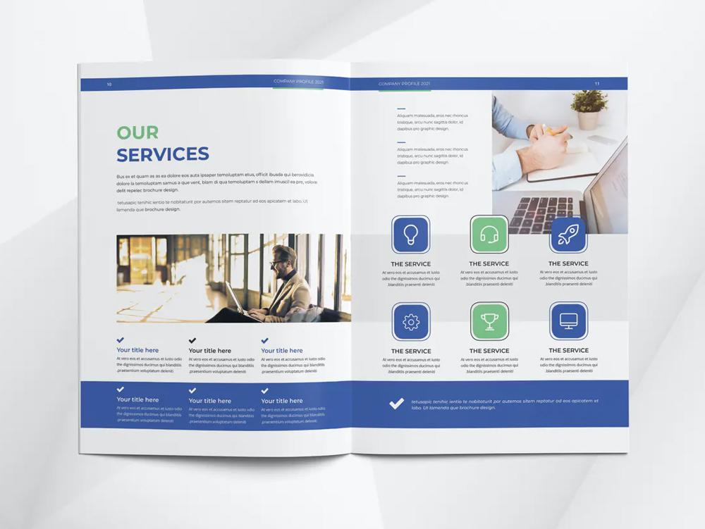 Company Profile Template INDD