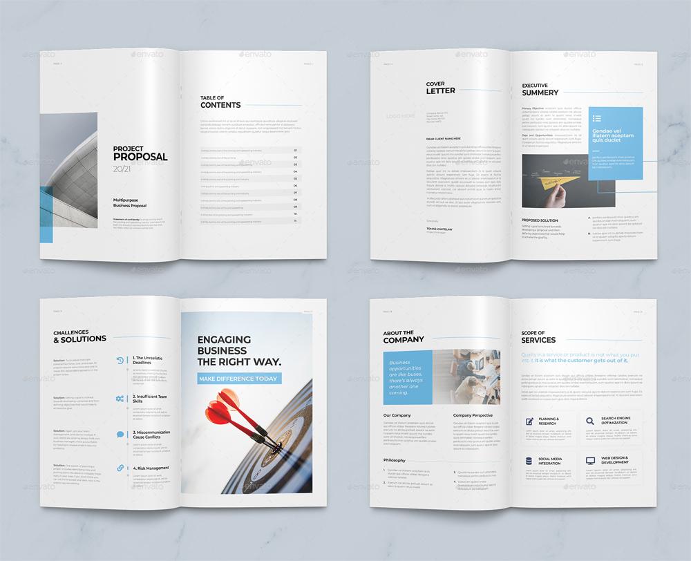 Proposal Brochure Template DOCX