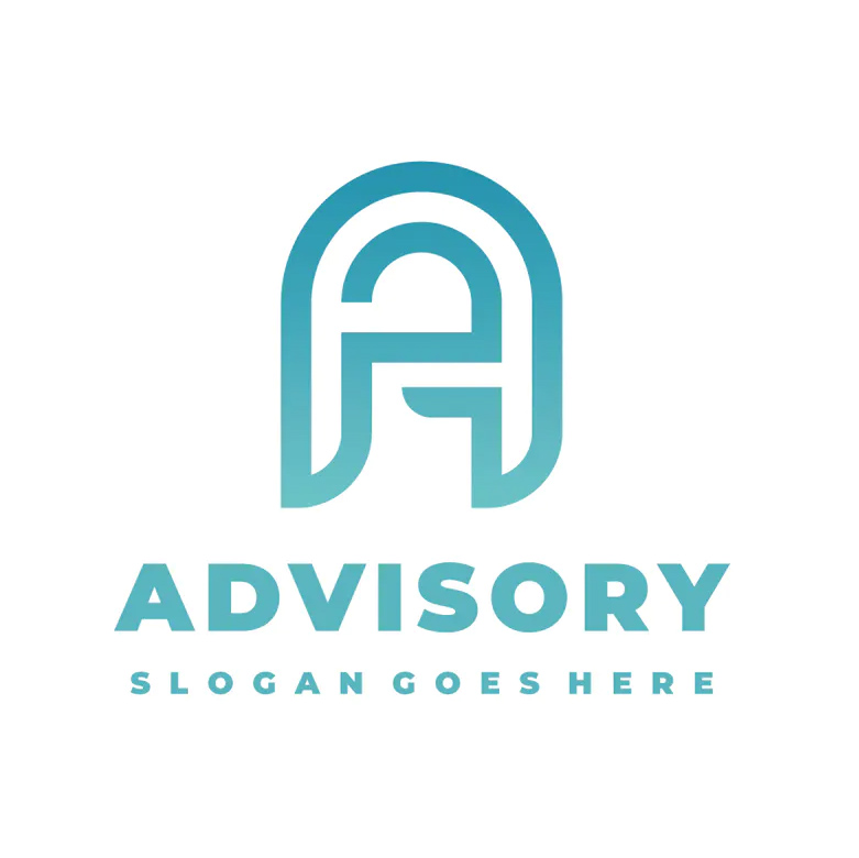 Advisory Letter A Logo Template