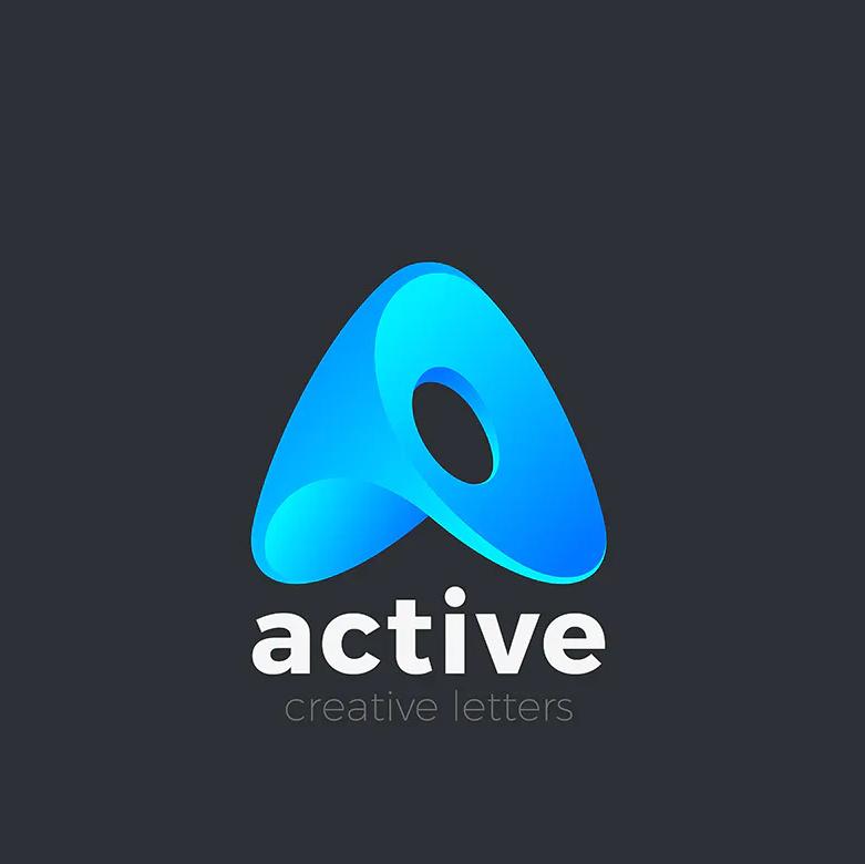 Creative A Logo Template
