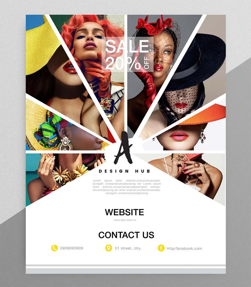Creative Fashion Flyer Template