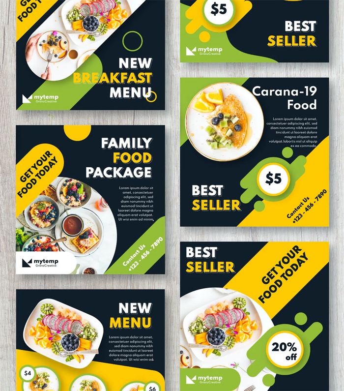 Family Food Instagram Posts