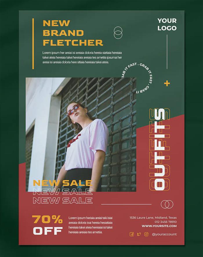 Lifestyle Fashion Flyer Template
