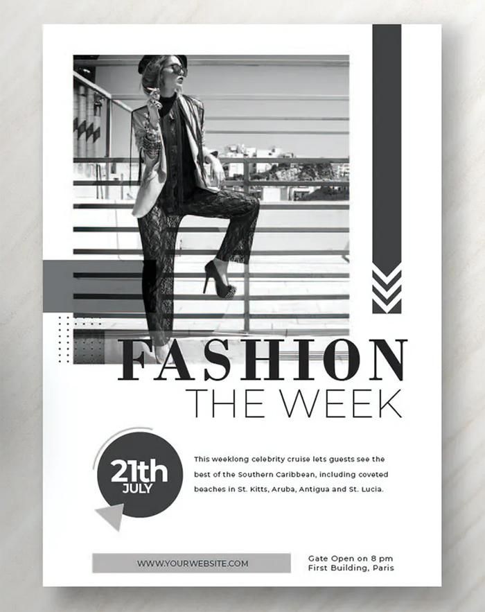 Modern Fashion Flyer Template