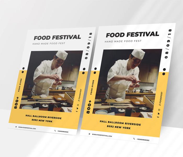 Modern Food Flyer Design