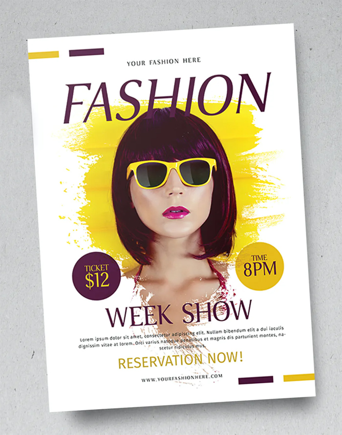 Stylish Fashion Flyer Template