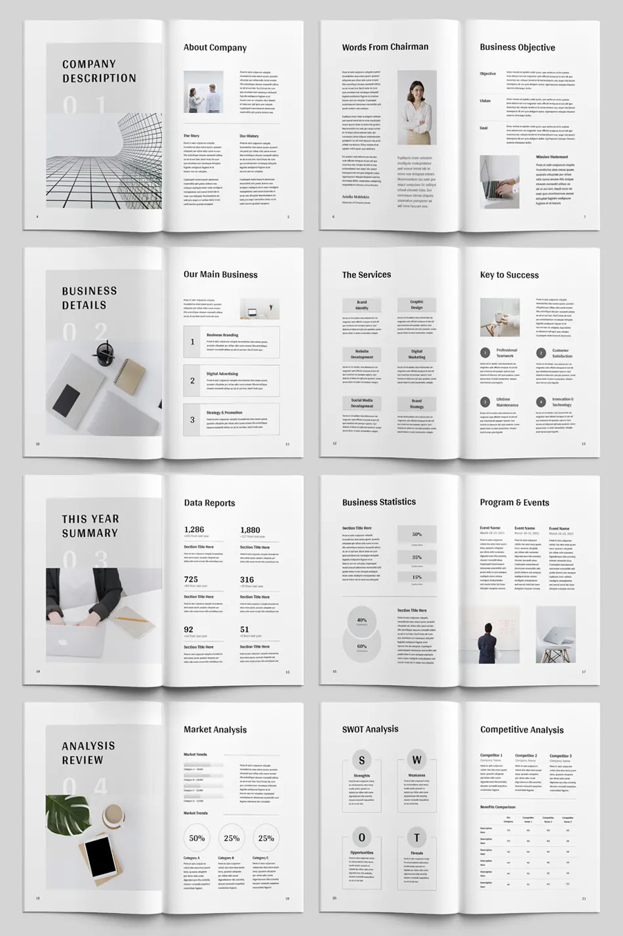 Annual Report Template WS Word