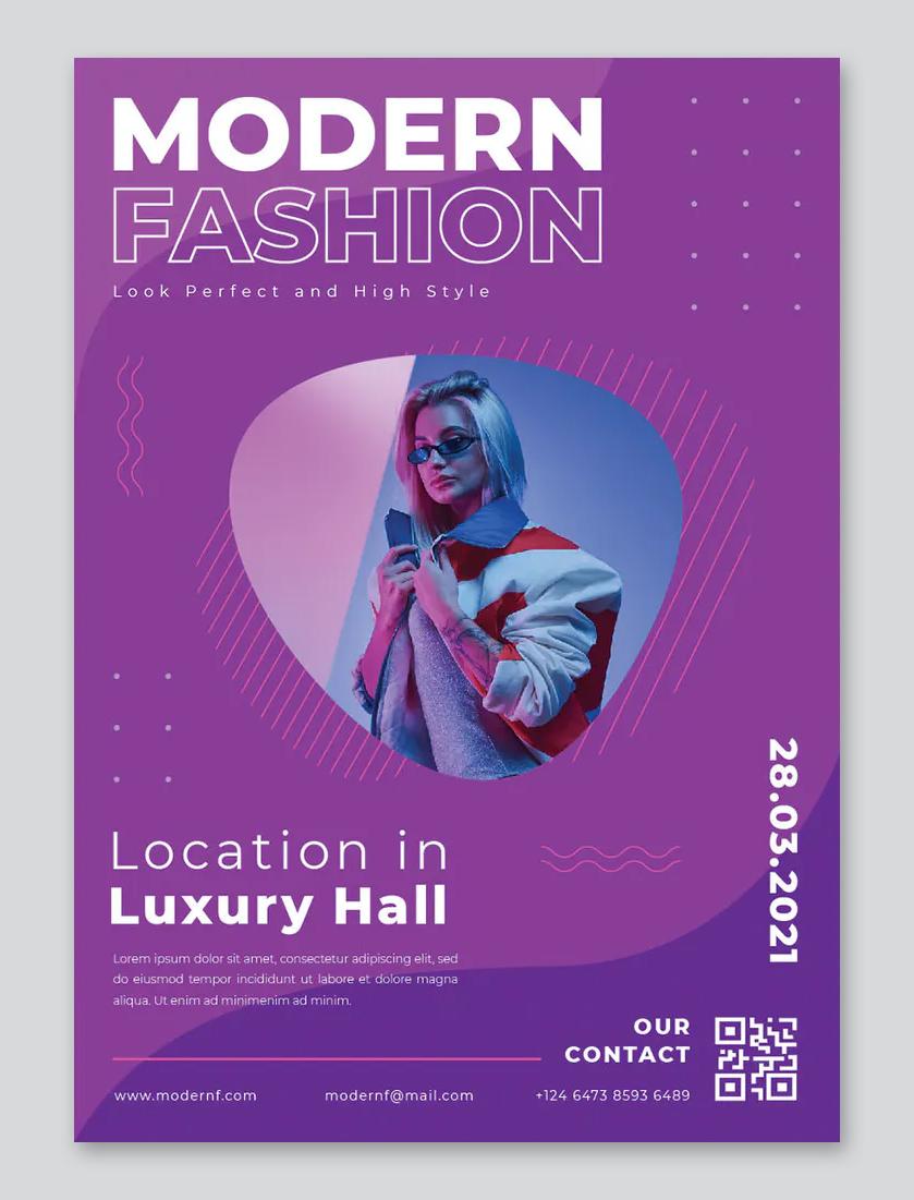 Creative Fashion Flyer Design