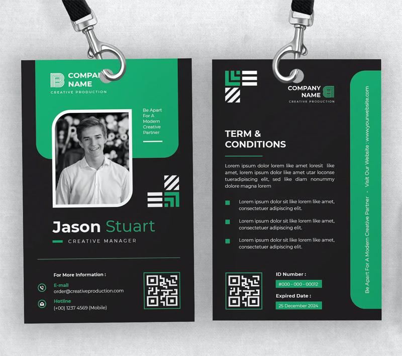 Creative ID Card Design