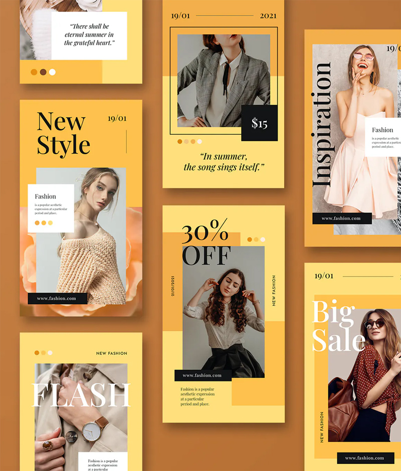 Fashion Instagram Stories Design