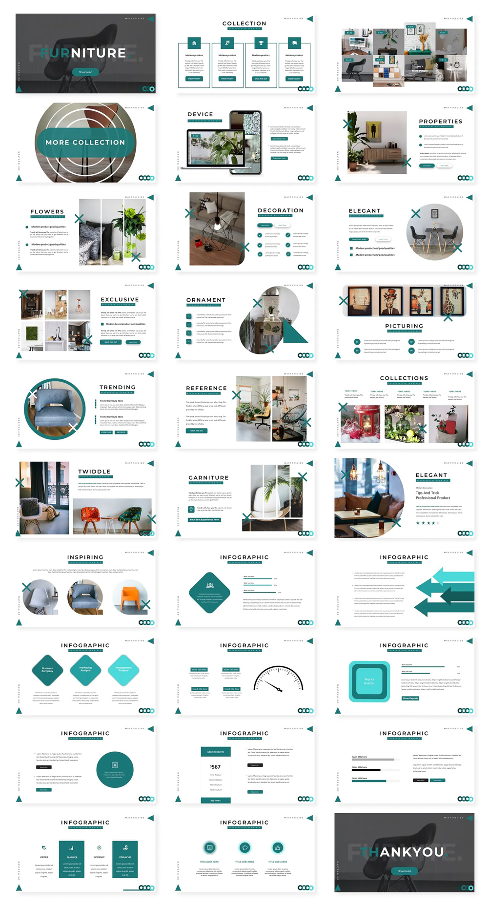 Furniture Powerpoint Template
