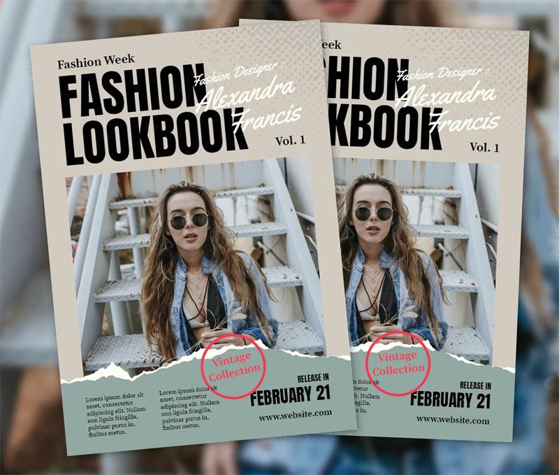 Glamour Fashion Flyer Design