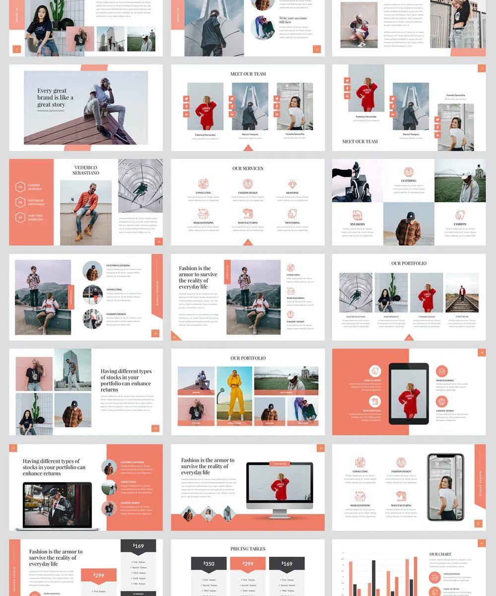 Lifestyle Fashion PowerPoint Presentation