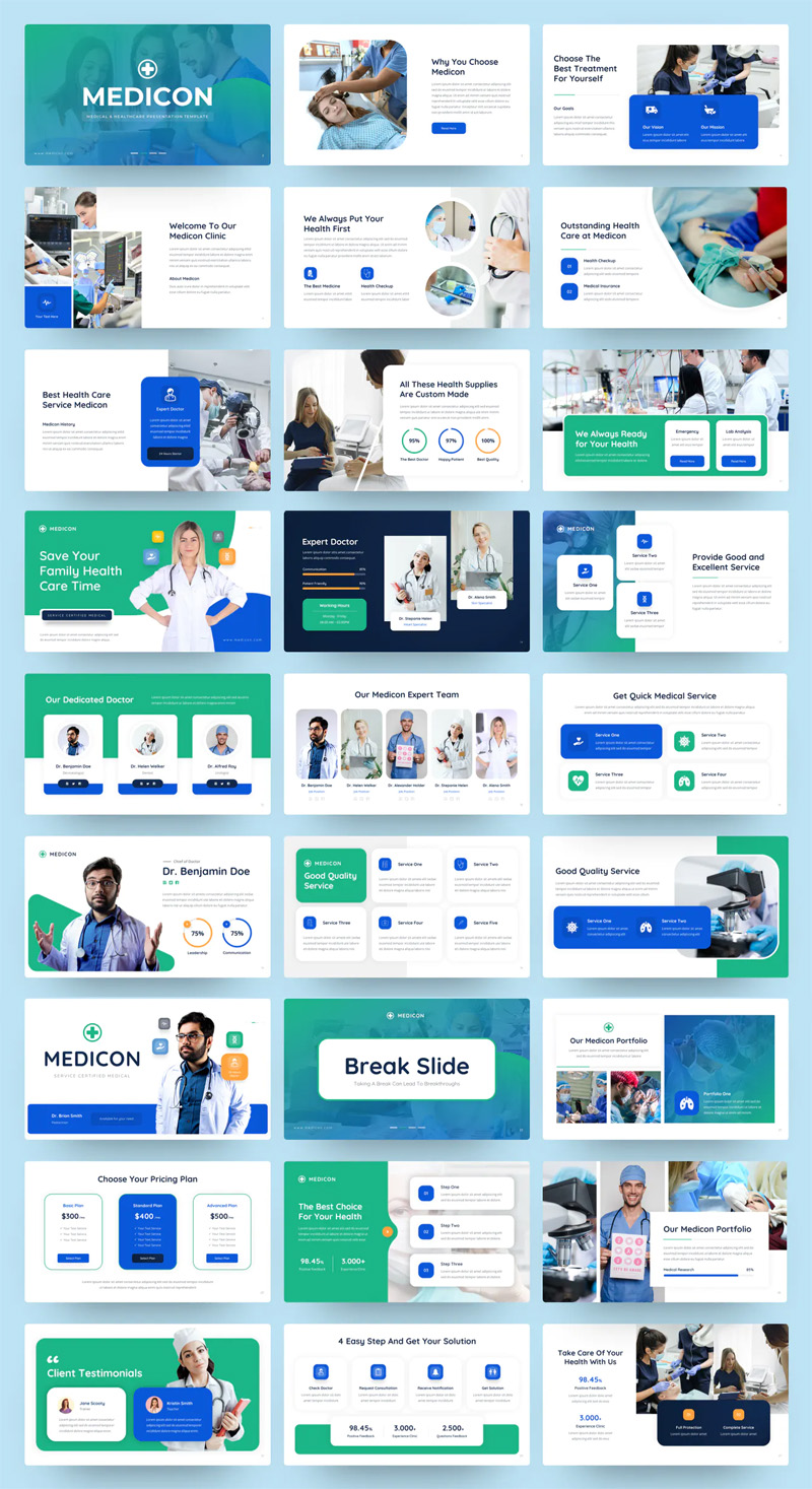 Medical & Healthcare PowerPoint Design