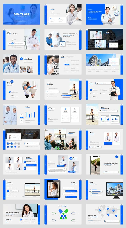 Modern Medical Powerpoint Templates