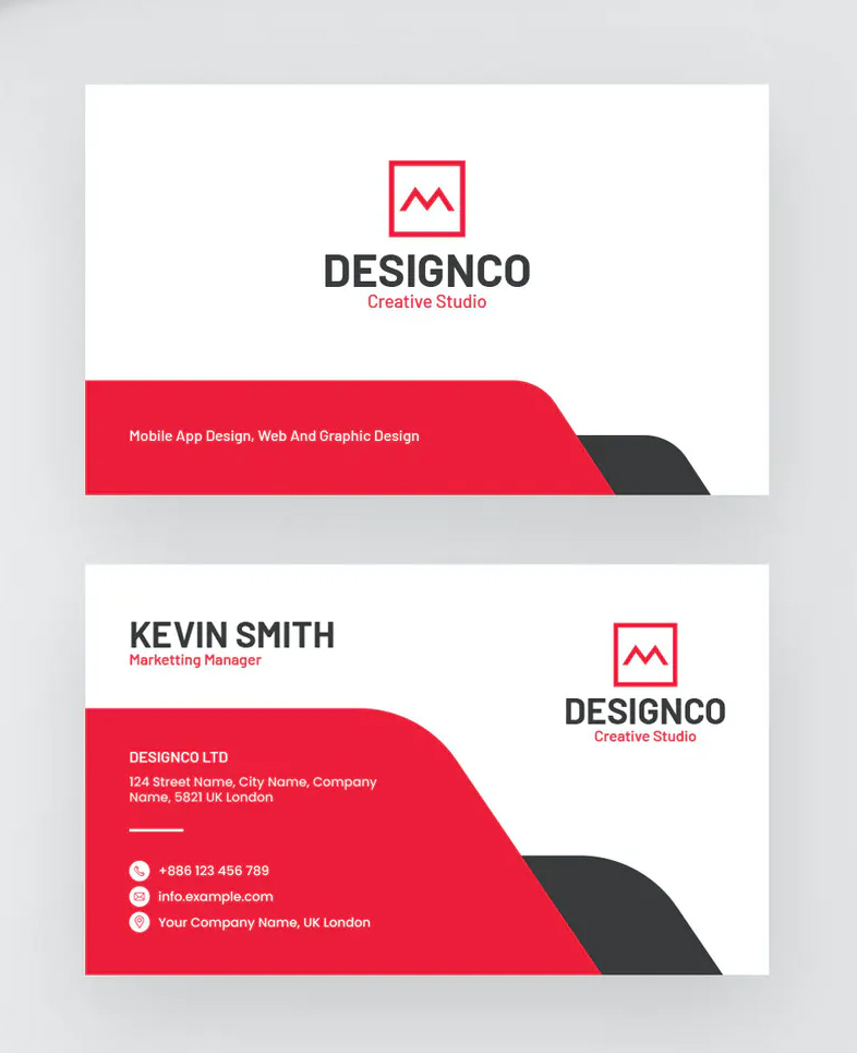 Professional Minimal Business Card Template